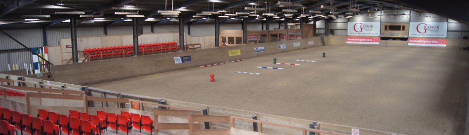 Our Indoor Arena with Seating & Galleries